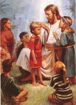 Jesus Blessing The Children Deseret Book