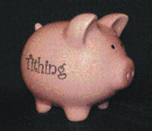 Piggy Bank: Tithing