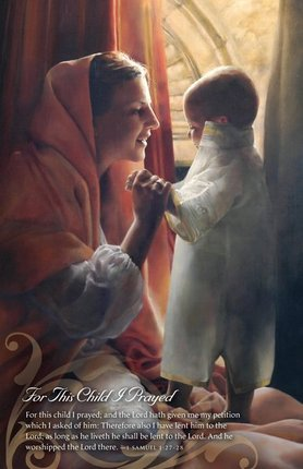 For This Child I Prayed Program Cover - Deseret Book