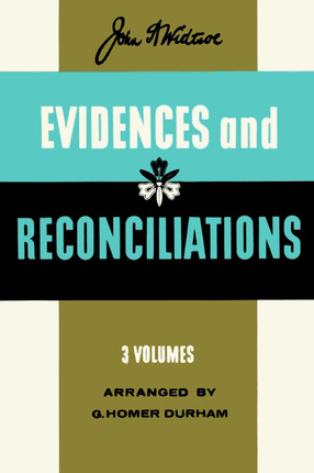 Evidences and reconciliations
