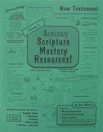Seminary Scripture Mastery Resources: New Testament, Vol. 2
