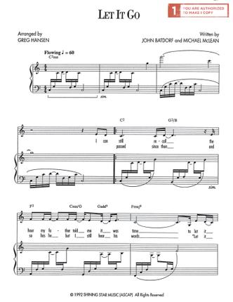 Let it go (sheet music download) deseret book.