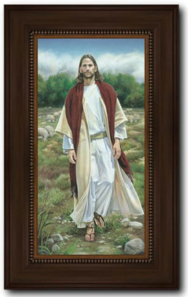Framed pictures of christ lds