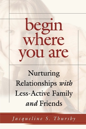 Begin where you are