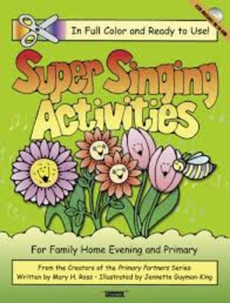super singing activities for family home evening and primary - Primary Colors Book