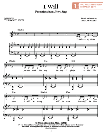 I Will (Sheet Music Download)