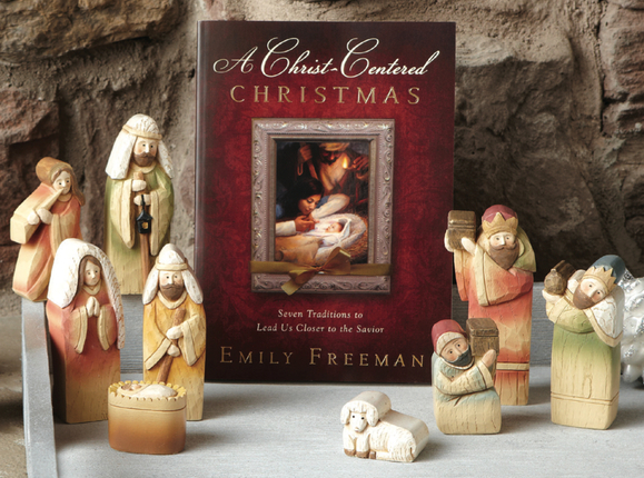A Christ-Centered Christmas Gift Set w/Nativity