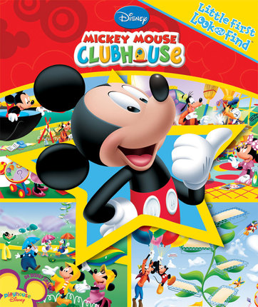 Mickey Mouse Clubhouse Little First Look And Find