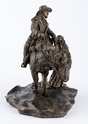Rescued (12-Inch Cold Cast Bronze Statue)