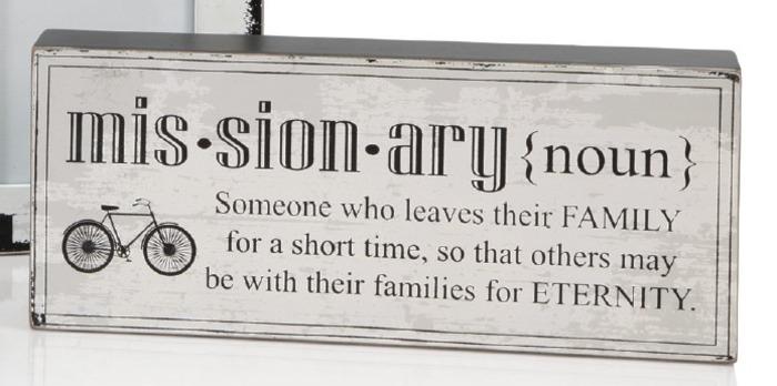 Missionary definition 10x5 plaque deseret book - Plaque de finition ...