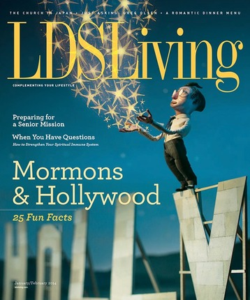 LDS Living Magazine: January/February 2014