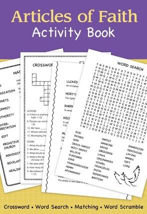 Articles of faith activity book