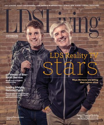 Lds living magazine january 2015