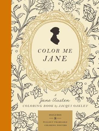 Color Me Jane A Jane Austen Coloring Book Deseret Book