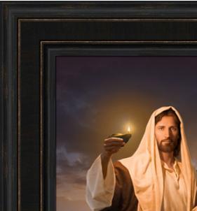 Lead, Kindly Light (26x43 Framed Giclee Canvas)