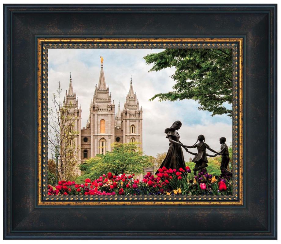 41845e5b45cd Salt Lake Eternal (14 x 12 Framed Art) - Deseret Book
