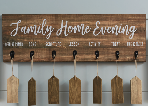 family home evening board deseret book