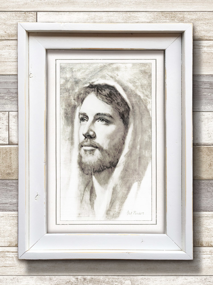 Jesus of Nazareth (22x16 Framed Art) - Deseret Book