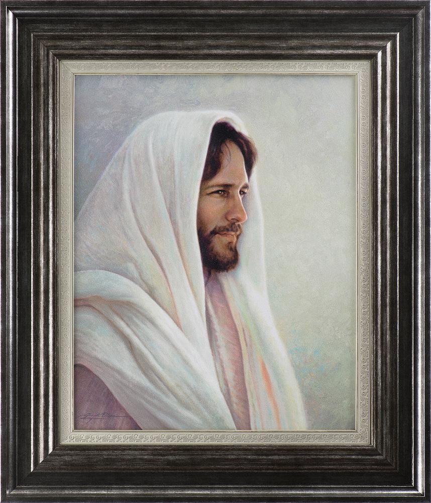 Lamb of God (33x28 Framed Art) - Deseret Book