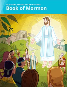 Scripture Stories Coloring Book: Book of Mormon