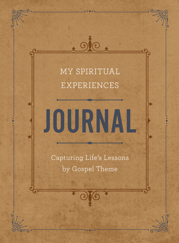 My spiritual experiences journal cover