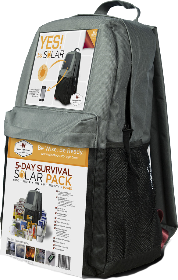 98971c8c14bf 5 Day Solar Survival Backpack