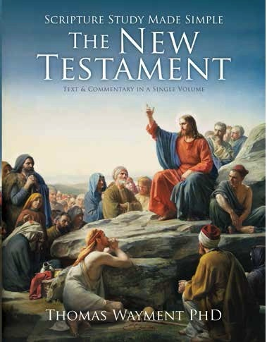 Scripture study made simple new testament