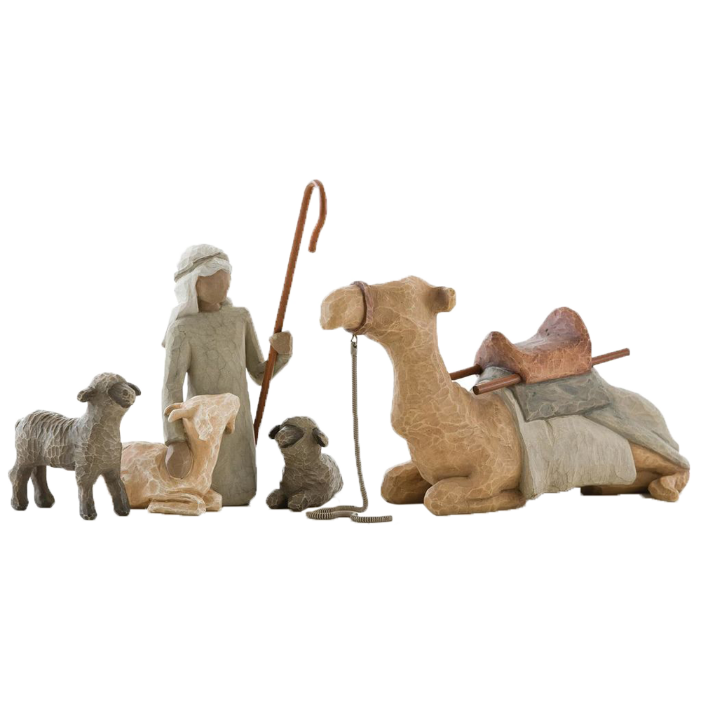 Shepherd and stable animals for the nativity figurines root 26105 1470 1 1