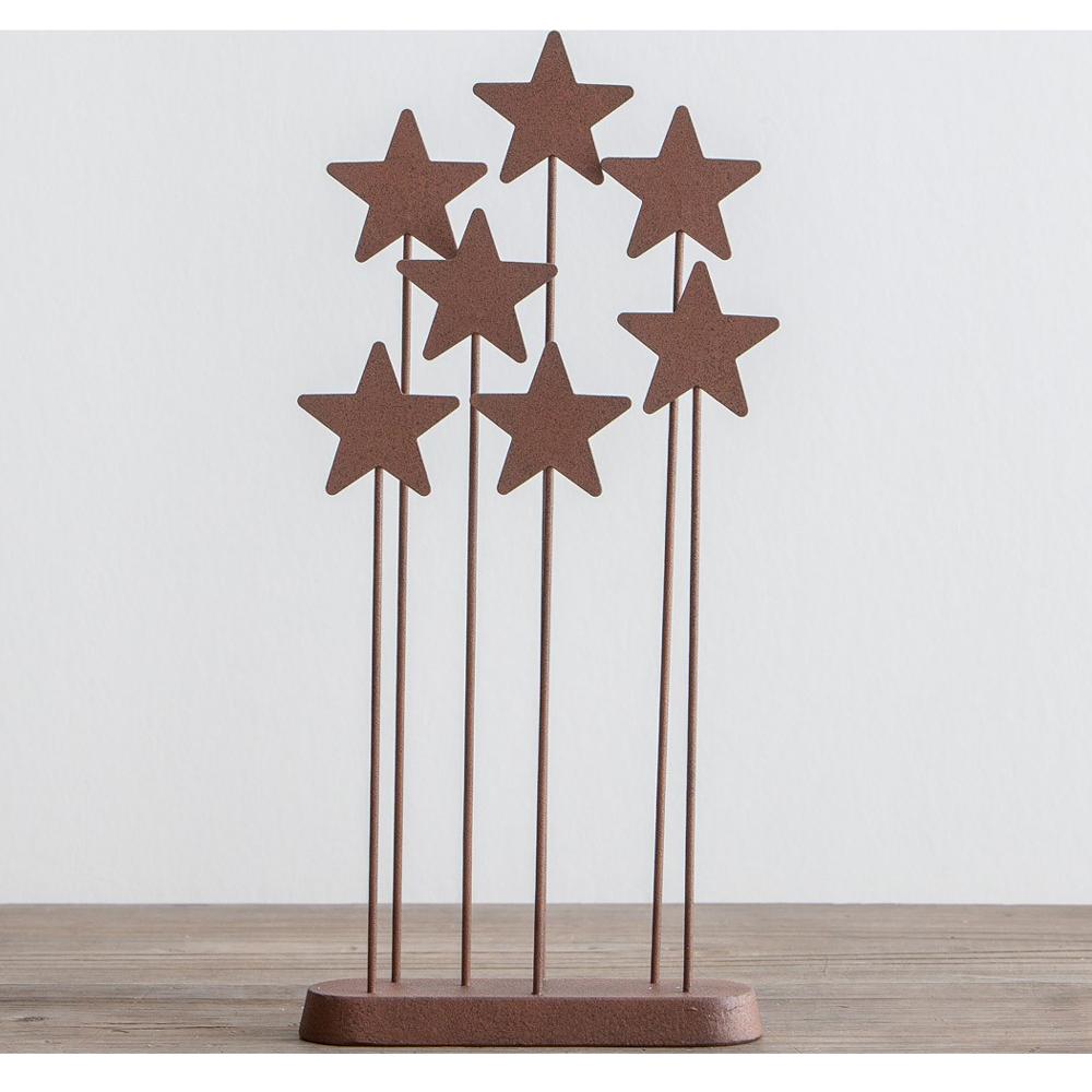 Willow tree metal star backdrop