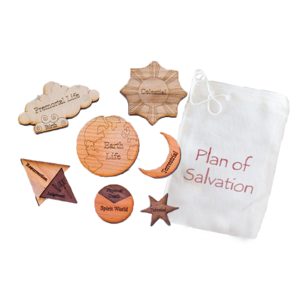Plan of Salvation Multi-Wood Puzzle Kit