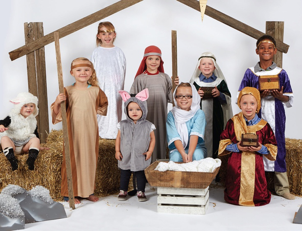 Children's Nativity Wiseman Costume
