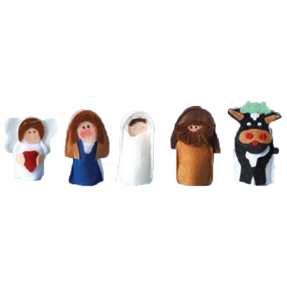 My pocket nativity puppets