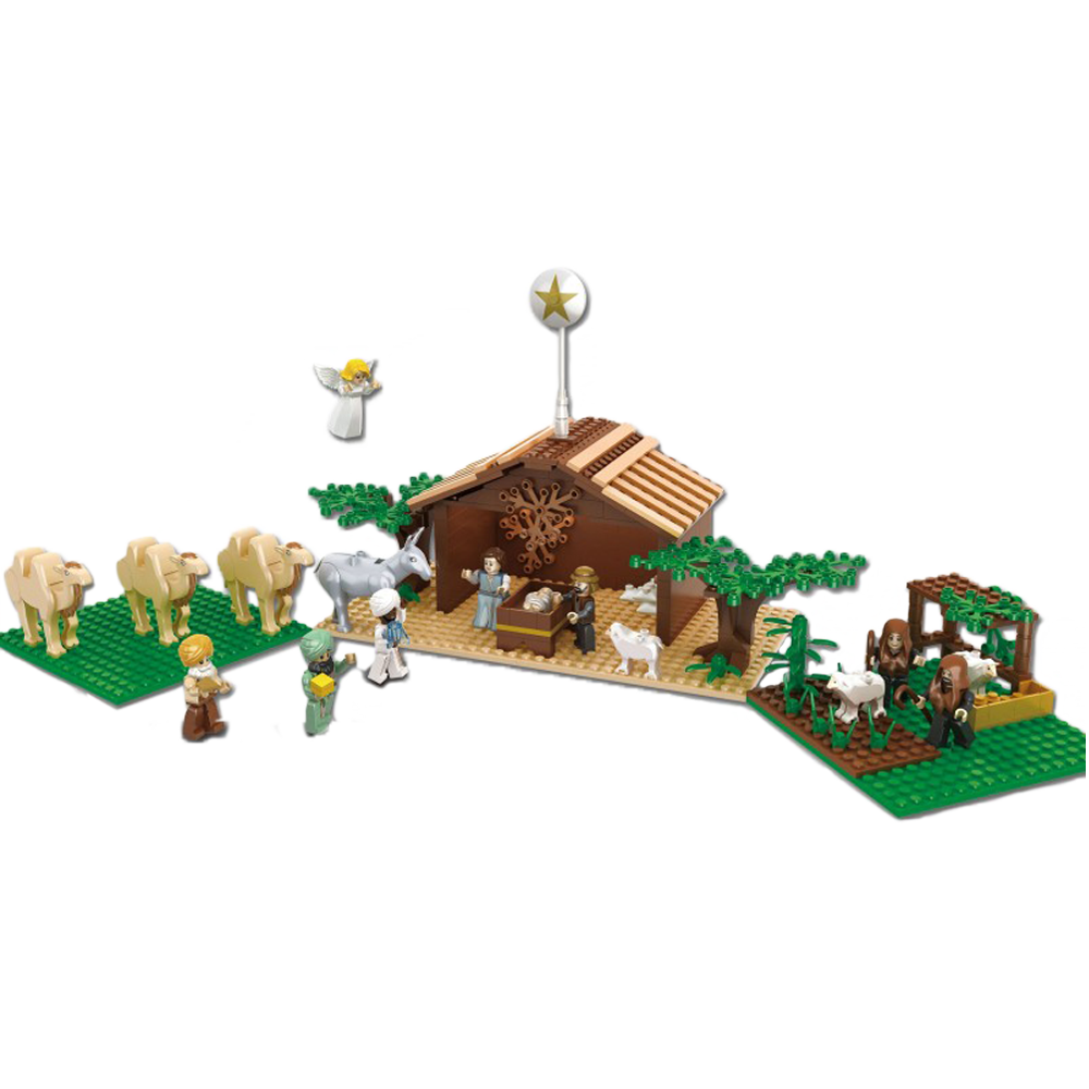 Brick'Em Young Nativity Set