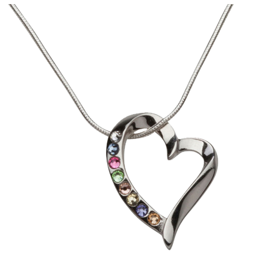 2ee4607cc586 Young Women Values Floating Heart Necklace - Deseret Book