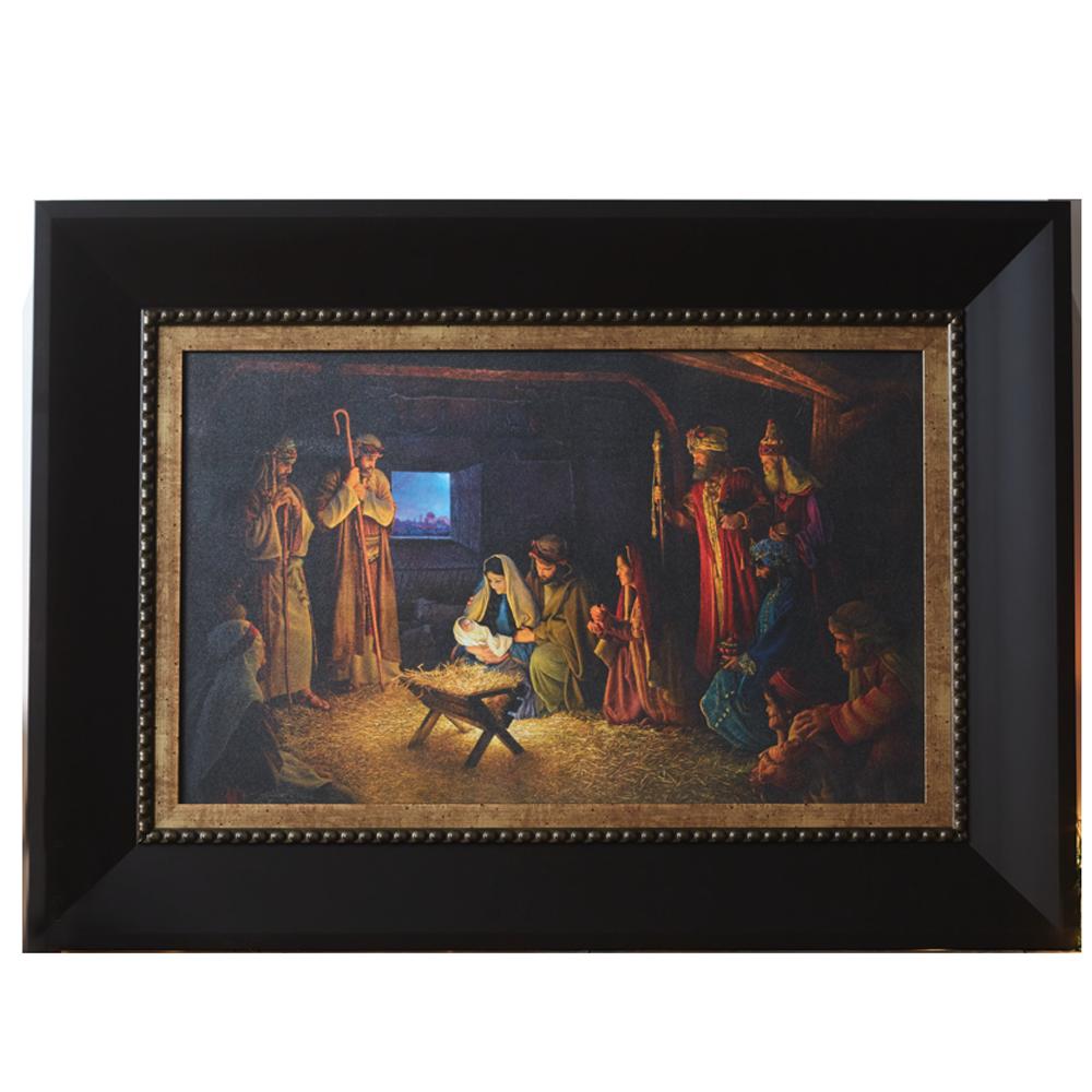 Nativity greg olsen painting