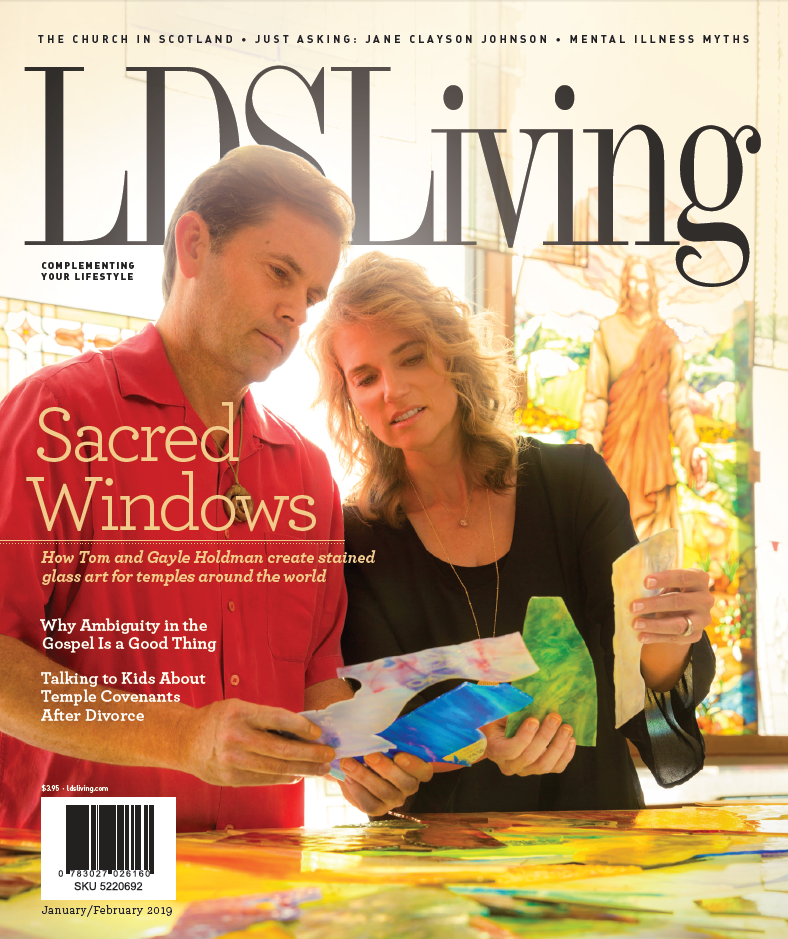Lds living magazine jan feb 2019