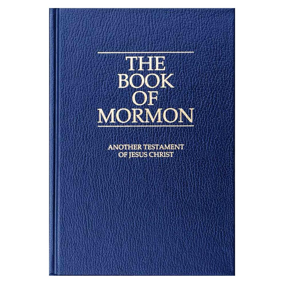 Book Of Mormon Regular Blue Deseret Book