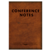 Conference notes brown