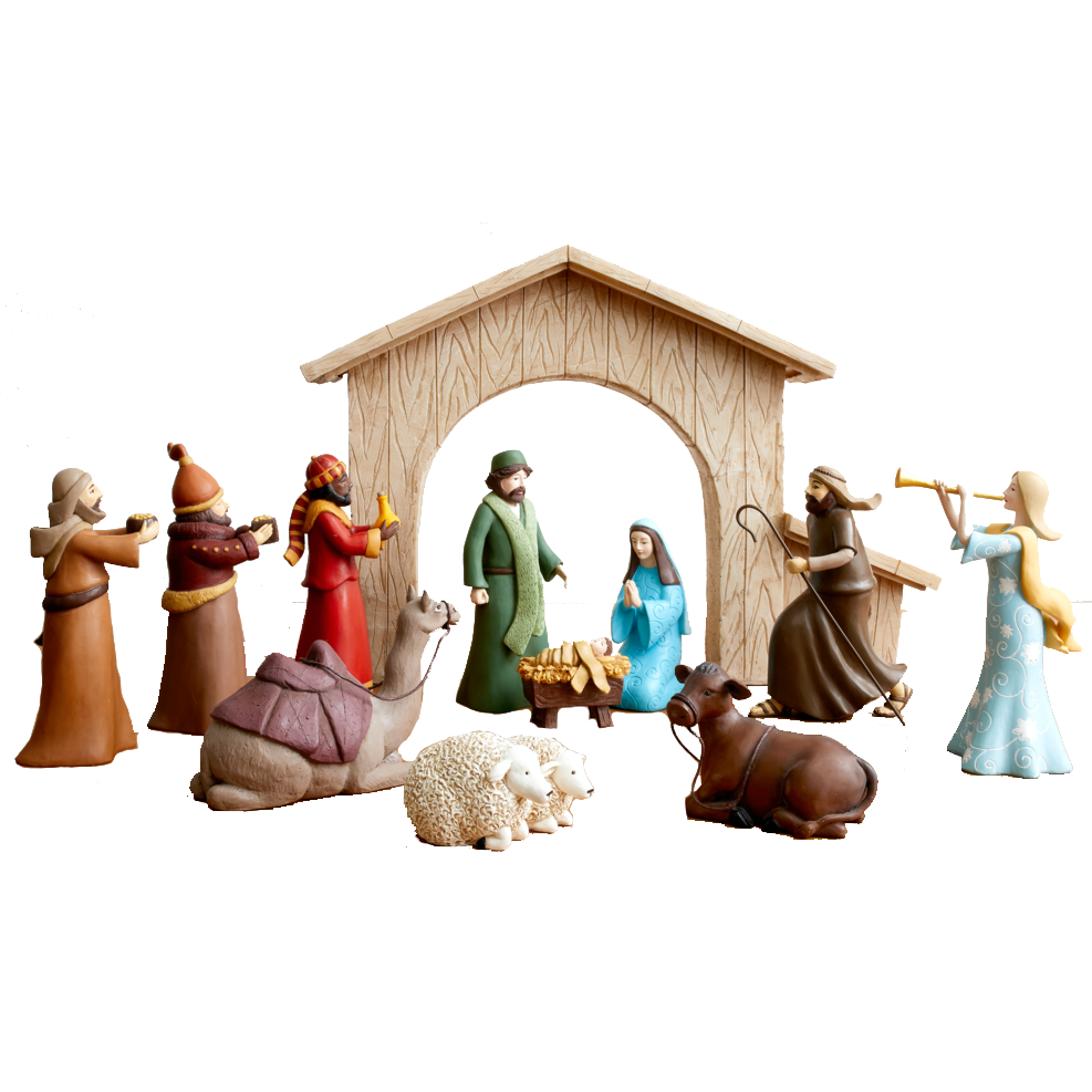 A Christ-Centered Nativity (12-Piece Set)